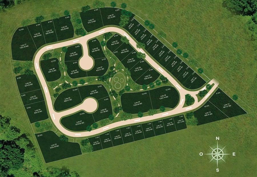Master plan de Aldea Maya - Tulum, Quintana Roo