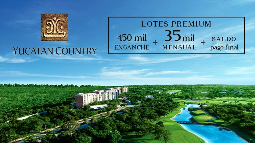 Yucatan Country Club lotes residenciales