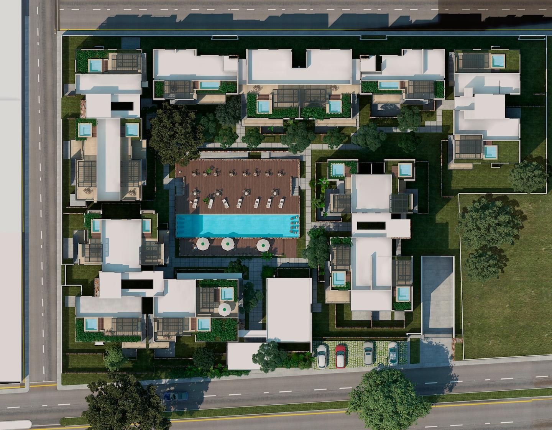 villas del sol aéreo