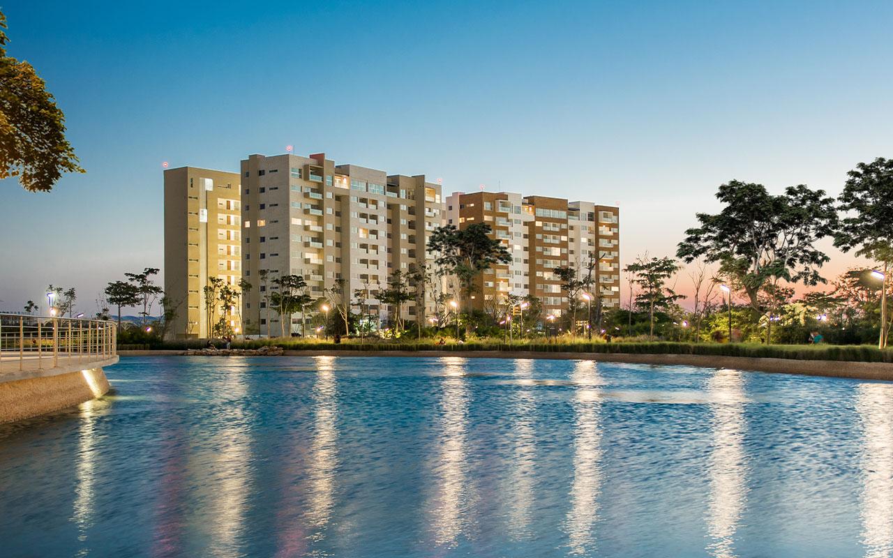 Vía Montejo, vista frontal de proyecto Inmobilia en Mérida, Yucatán.