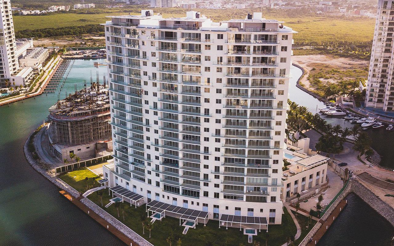: Aria Puerto Cancún, proyecto residencial.