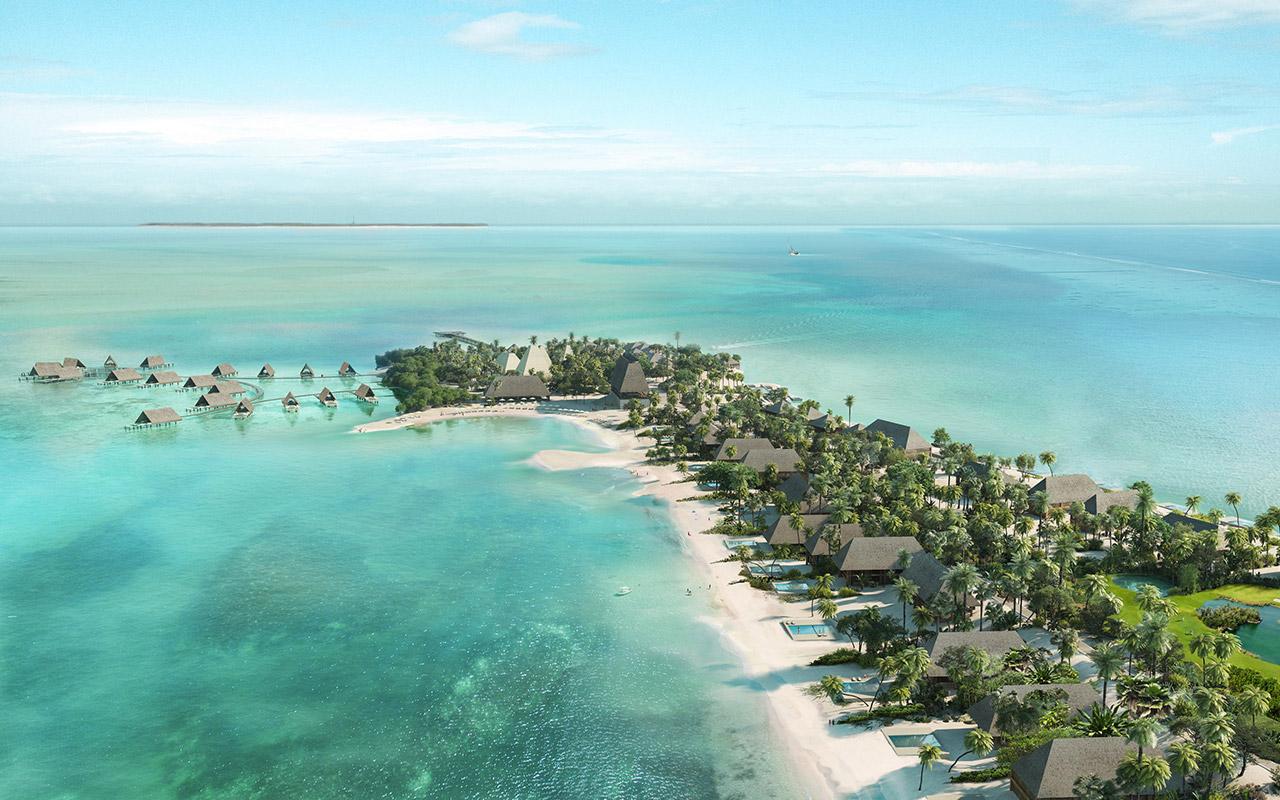: Isla privada, Caye Chapel en Belize.