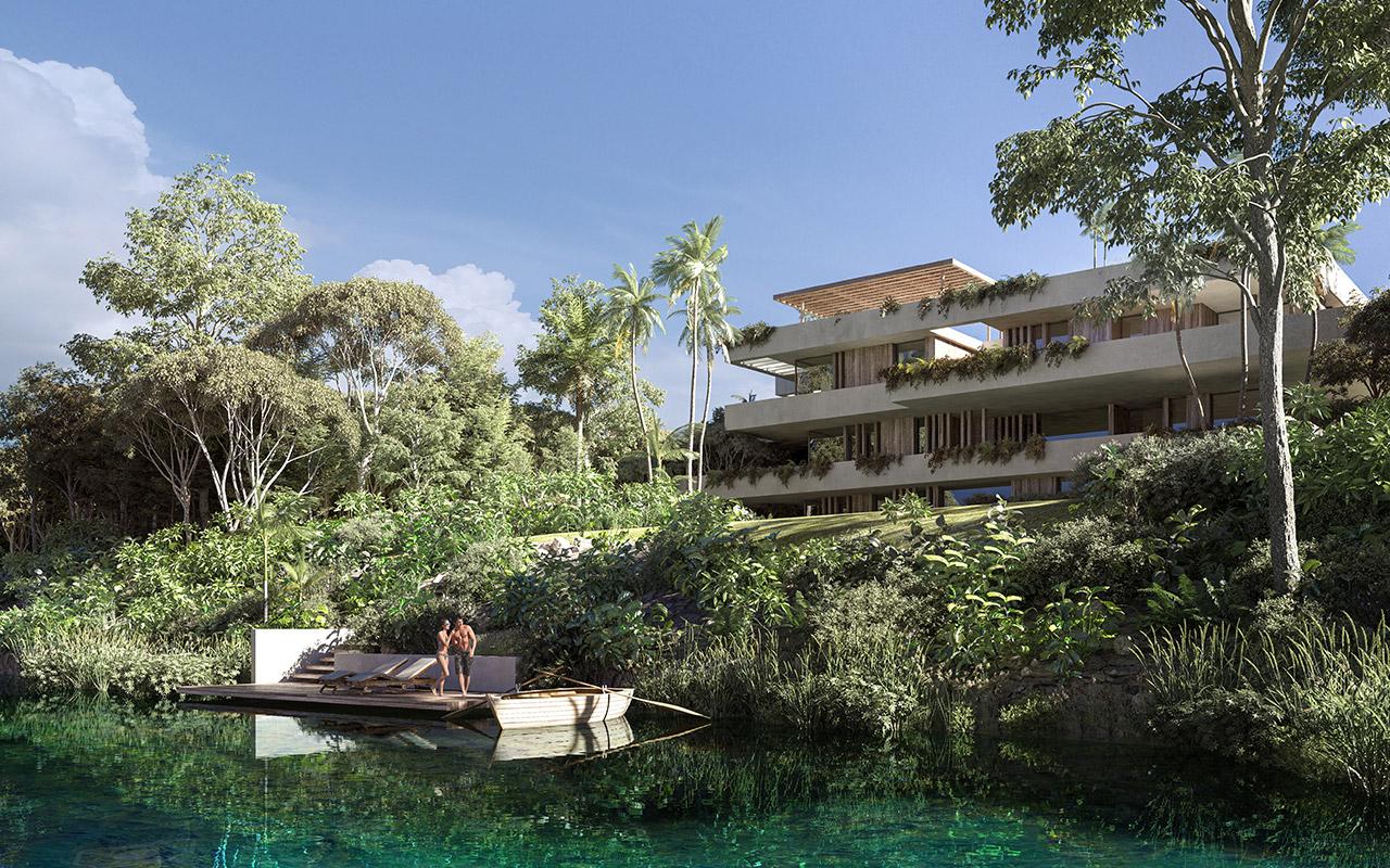 Residencias de lujo en el caribe mexicano, proyecto Inmobilia.
