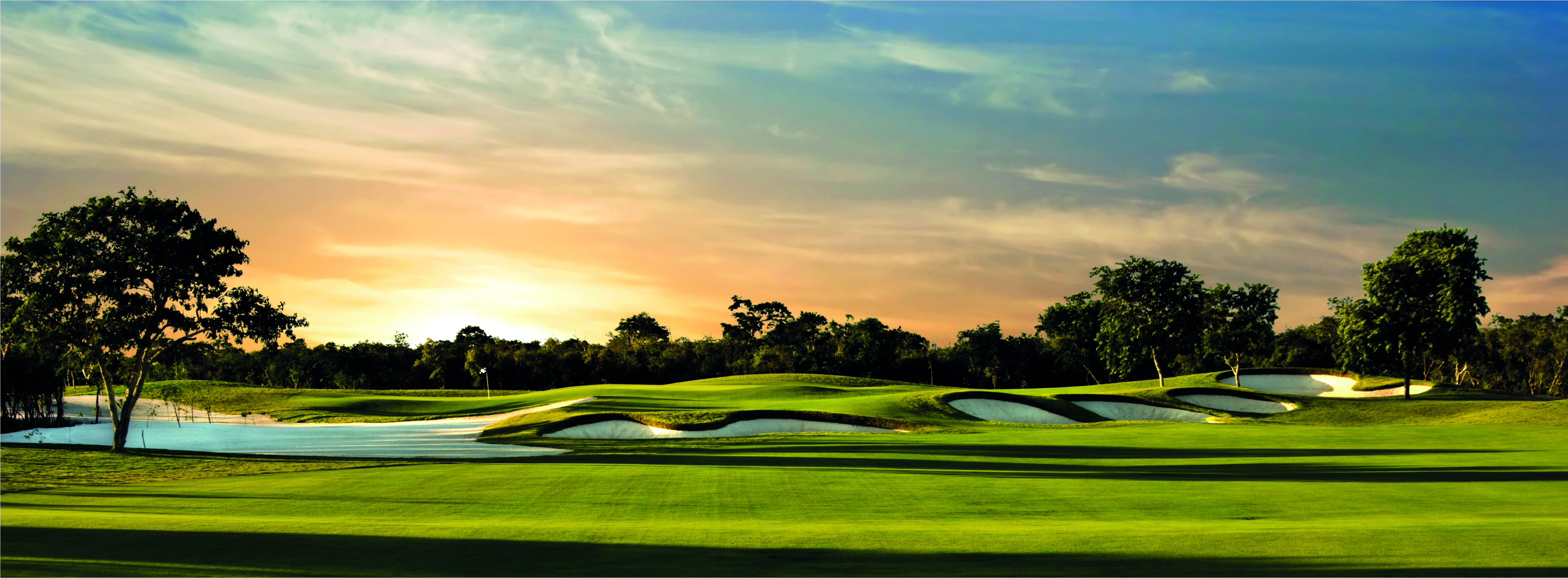 El jaguar golf course. Real state development, Yucatan Country Club.